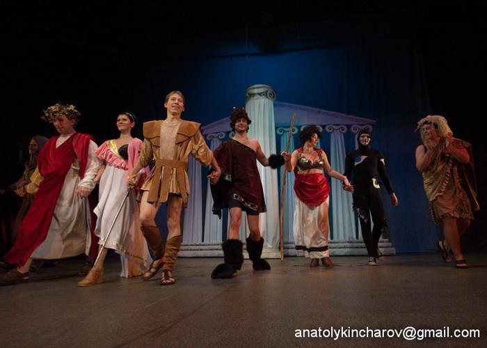 Приключения Геркулеса, театр Дилижанс