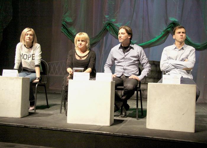 пресс-конференция в театре Дилижанс