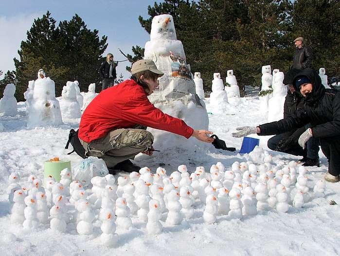 Конкурс Корпорация снеговиков 2015