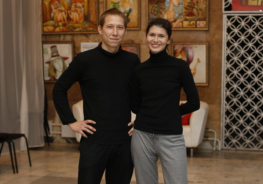 Пётр Зубарев и Екатерина Зубарева