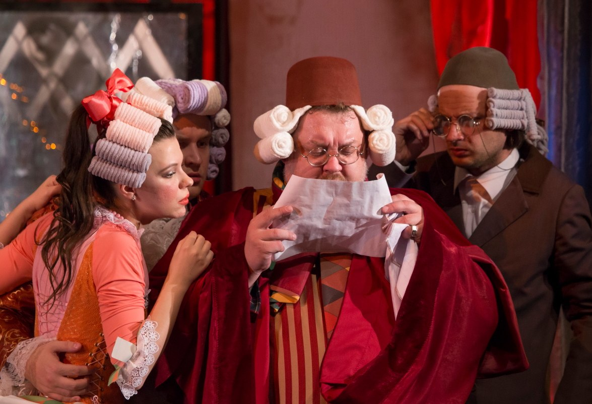 Слуга двух господ, театр Дилижанс